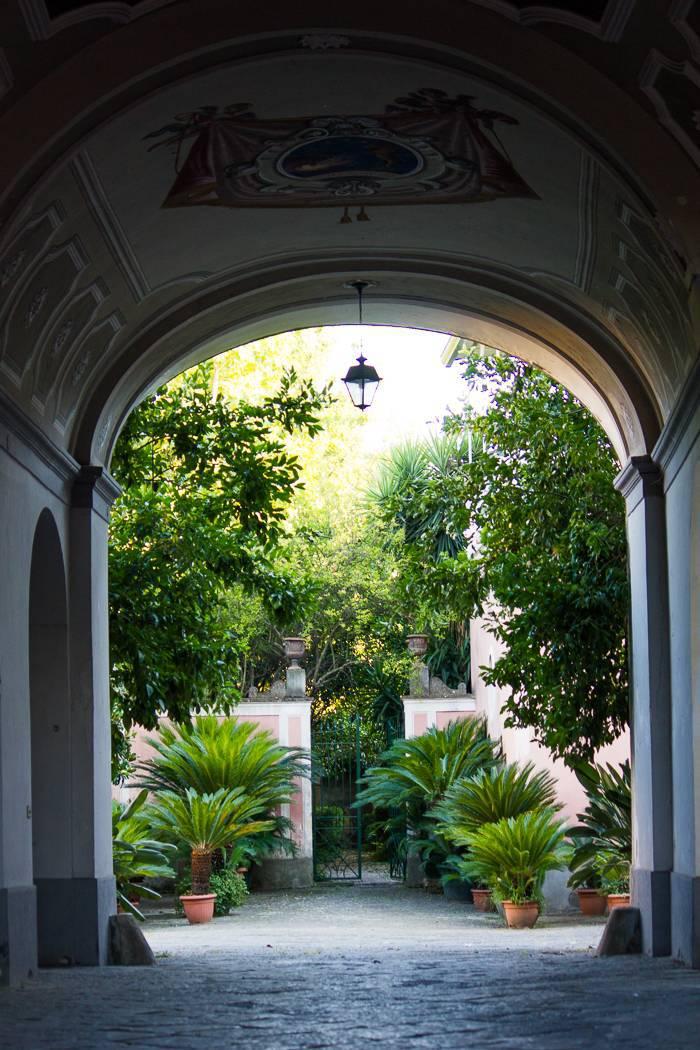 Palazzo Tartaglione - Androne Ingresso